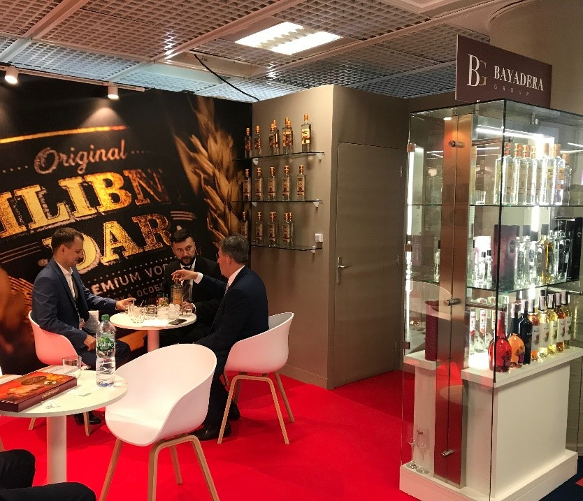 BAYADERA GROUP PRESENTED A STAND AT THE WORLD DUTY FREE EXHIBITION IN CANNES